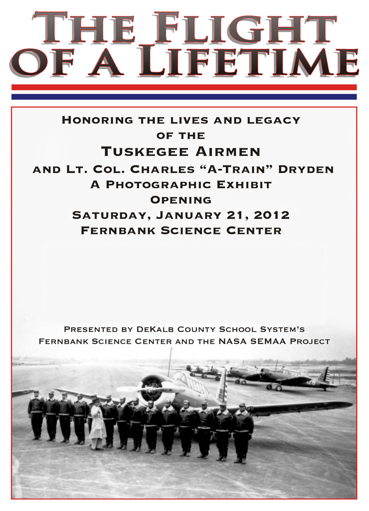 Tuskegee Airmen at Fernbank Science Center